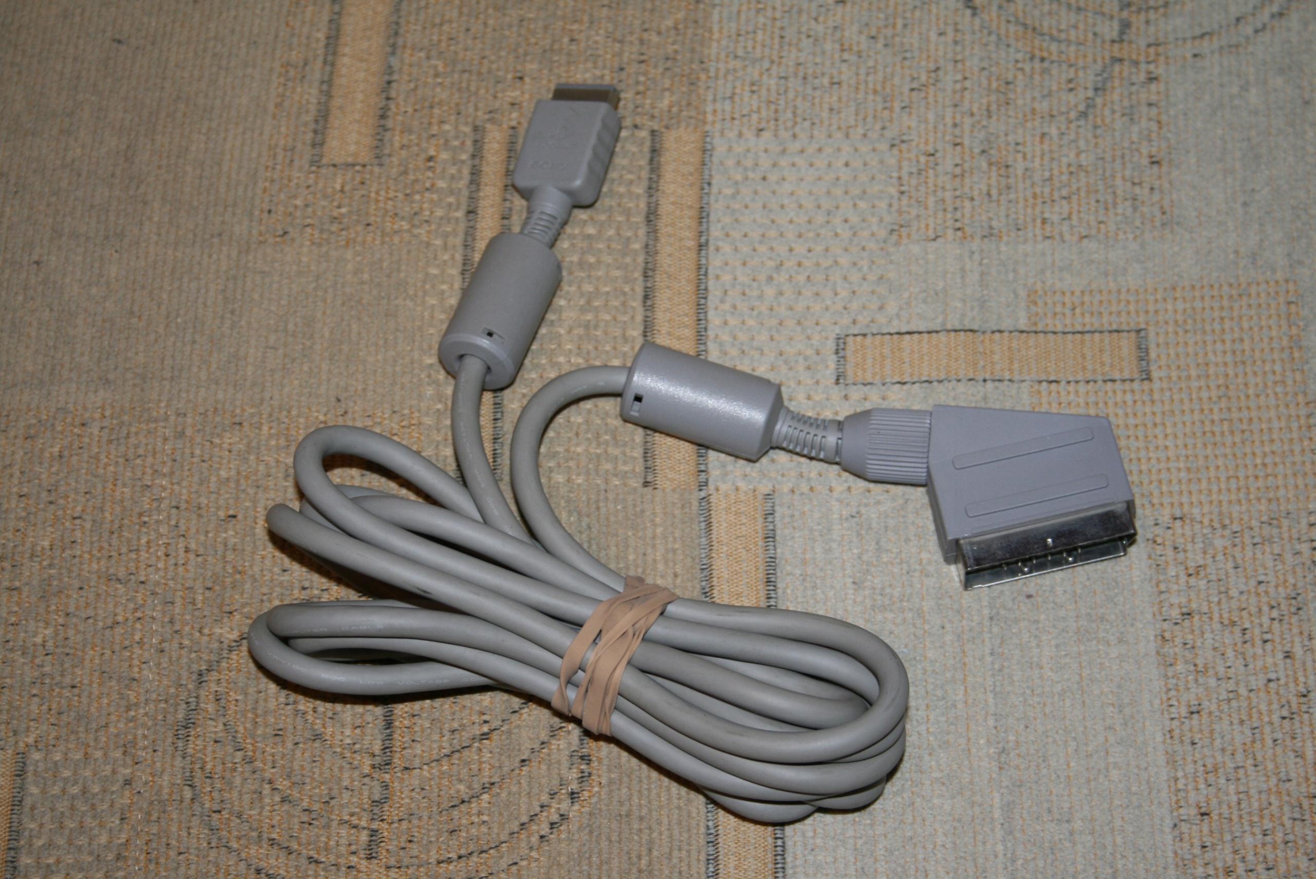ORYGINALNY KABEL RGB SONY PLAYSTATION / SCPH-1052