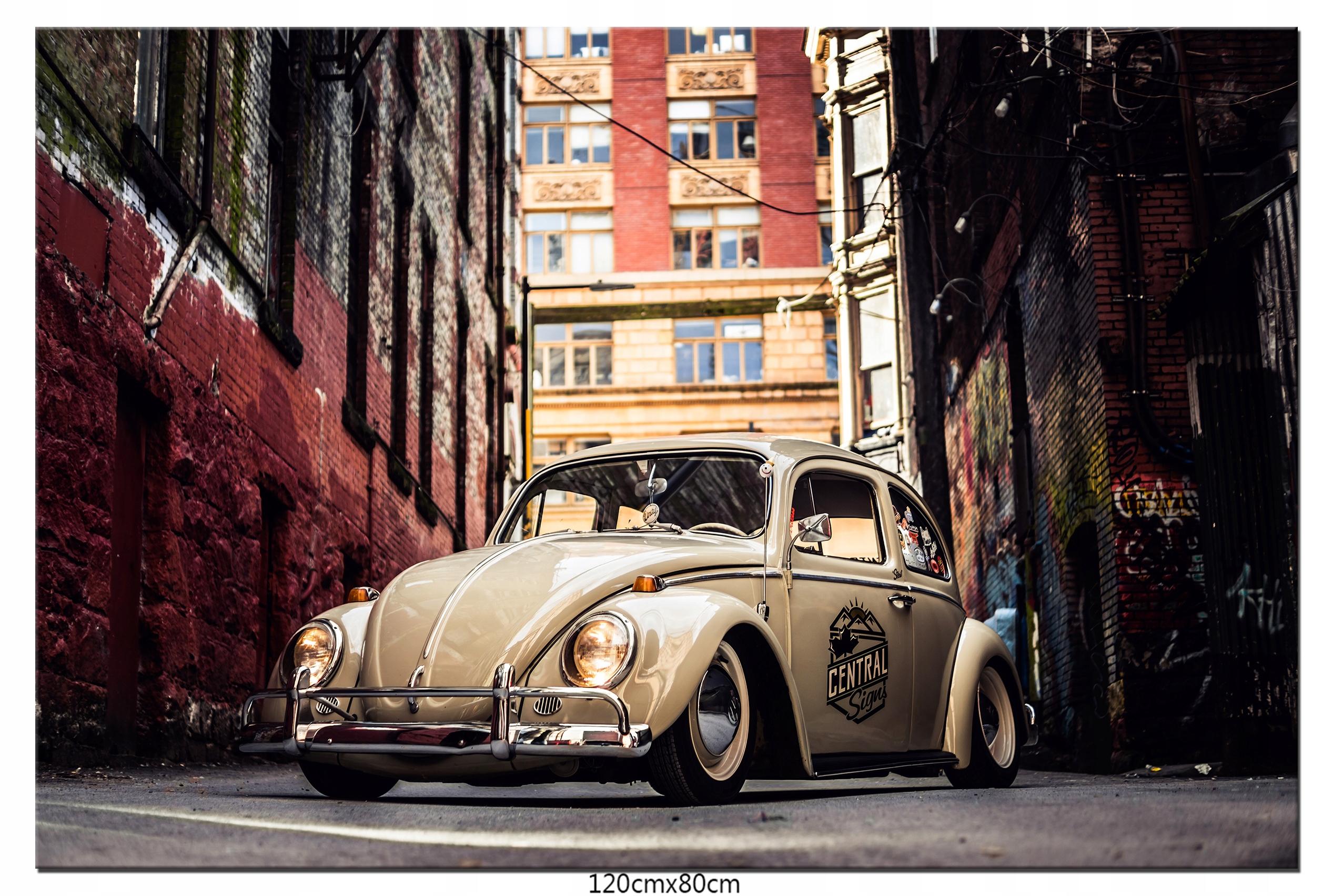Obraz Auto Samochód VW Volkswagen Garbus