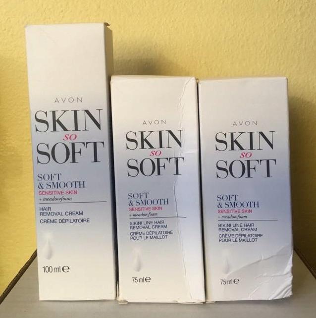 Avon krem do depilacji bikini x2 skóry wrażliwej 1