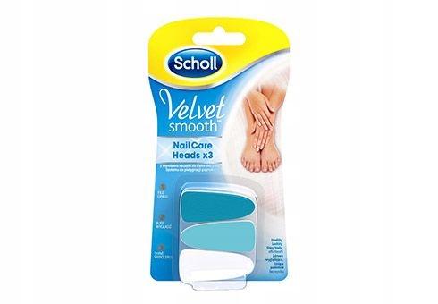 Scholl Velvet Smooth wymienne nasadki do elektroni