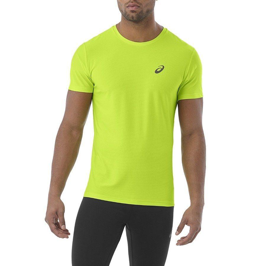 Koszulka Męska do biegania Asics SS TOP zielon L