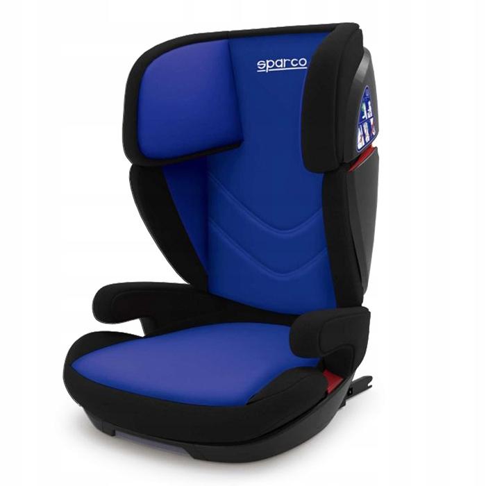 Fotelik SPARCO F700i ISOFIX 15-36 kg Niebieski