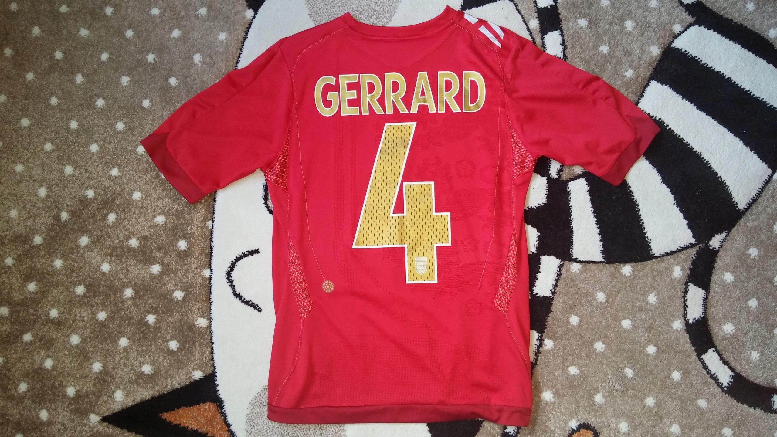Koszulka klubowa Umbro England 4 Gerrard r. S