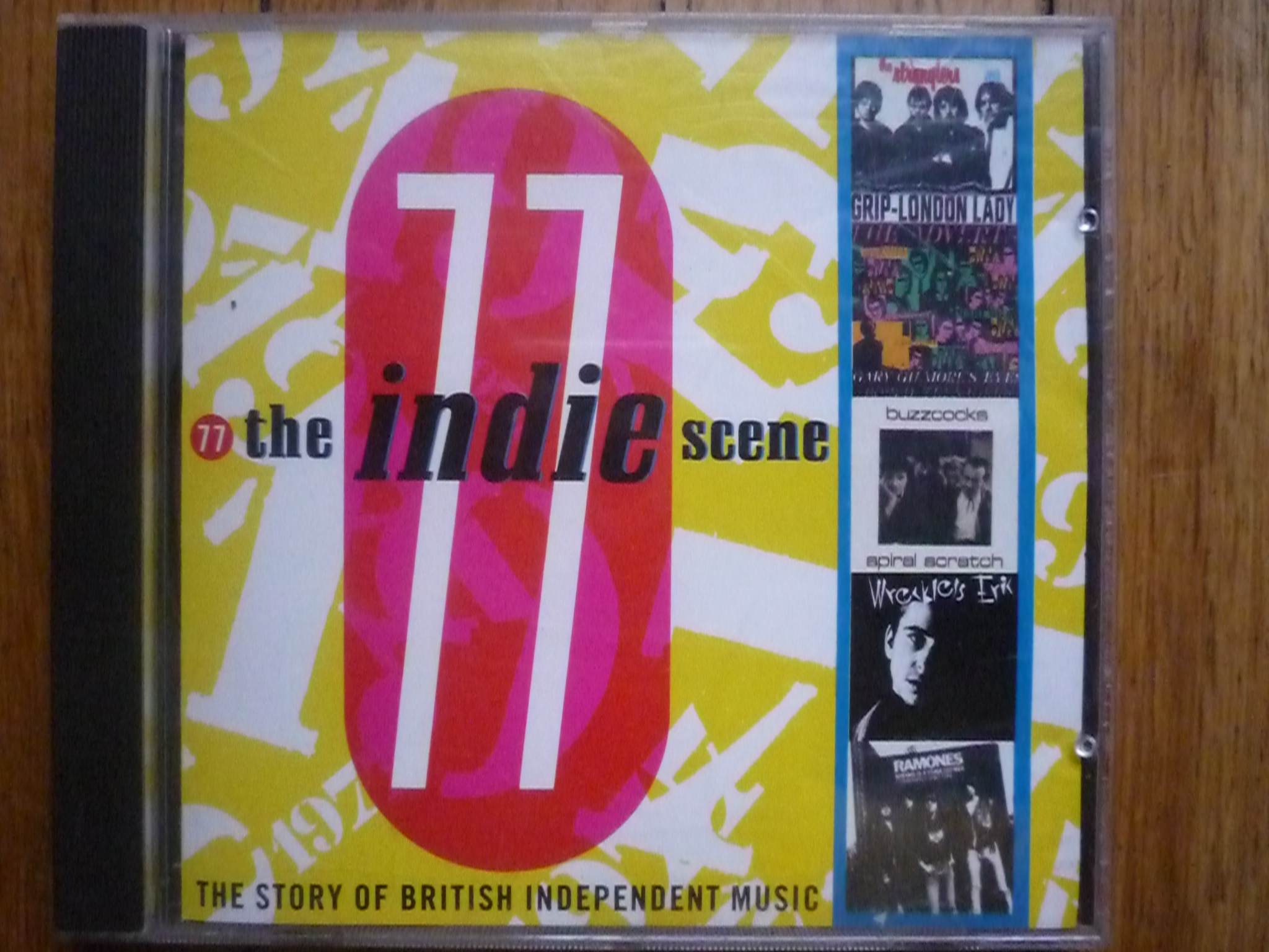 V.A. THE INDIE SCENE 77 R (INDEPENDENT MUSIC) CD