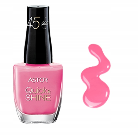 ASTOR lakier QUICK SHINE 45 sec.202 Im in the Pink