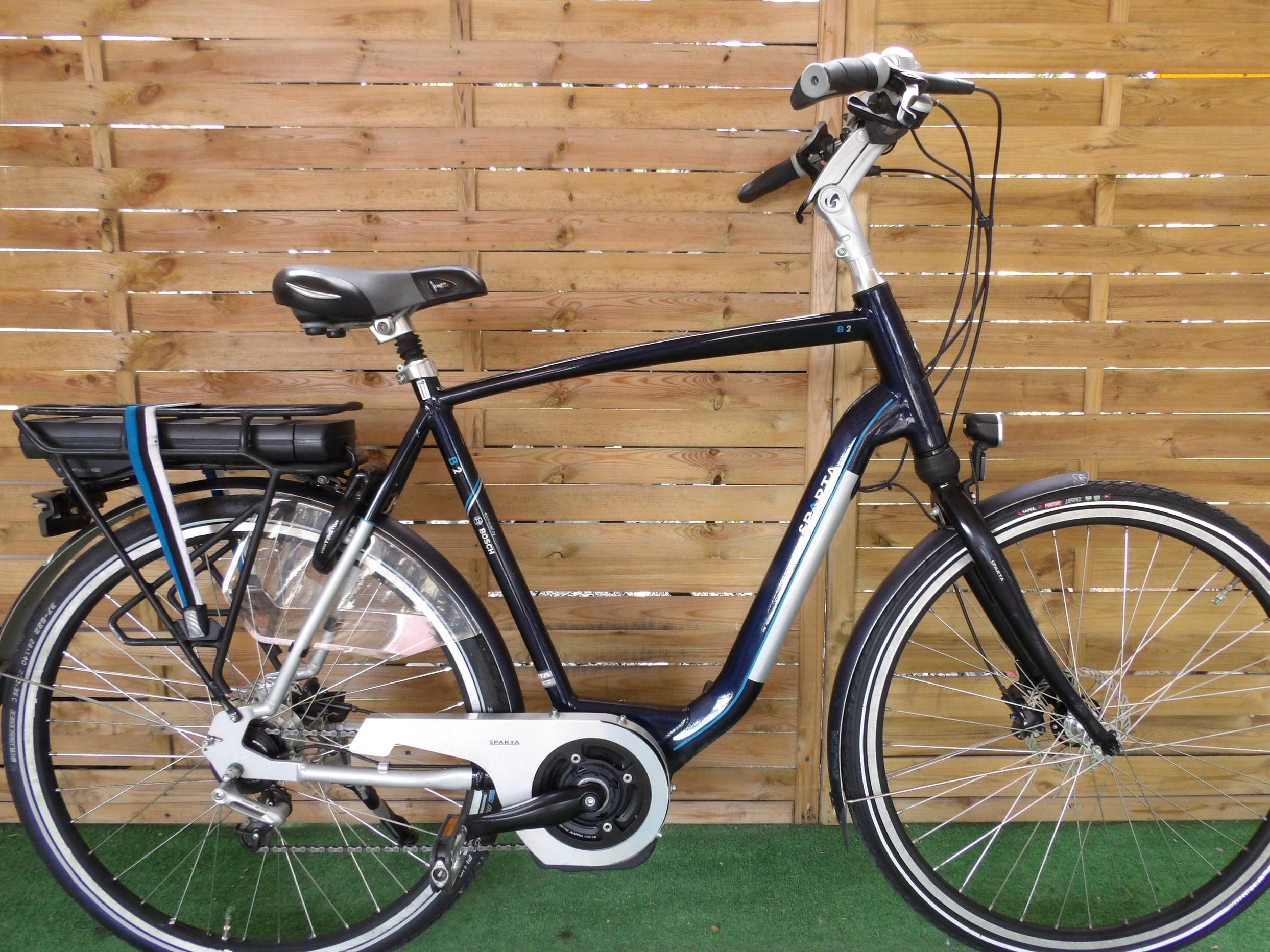 Rower elektryczny Sparta B 2 H 61. I inne rowery