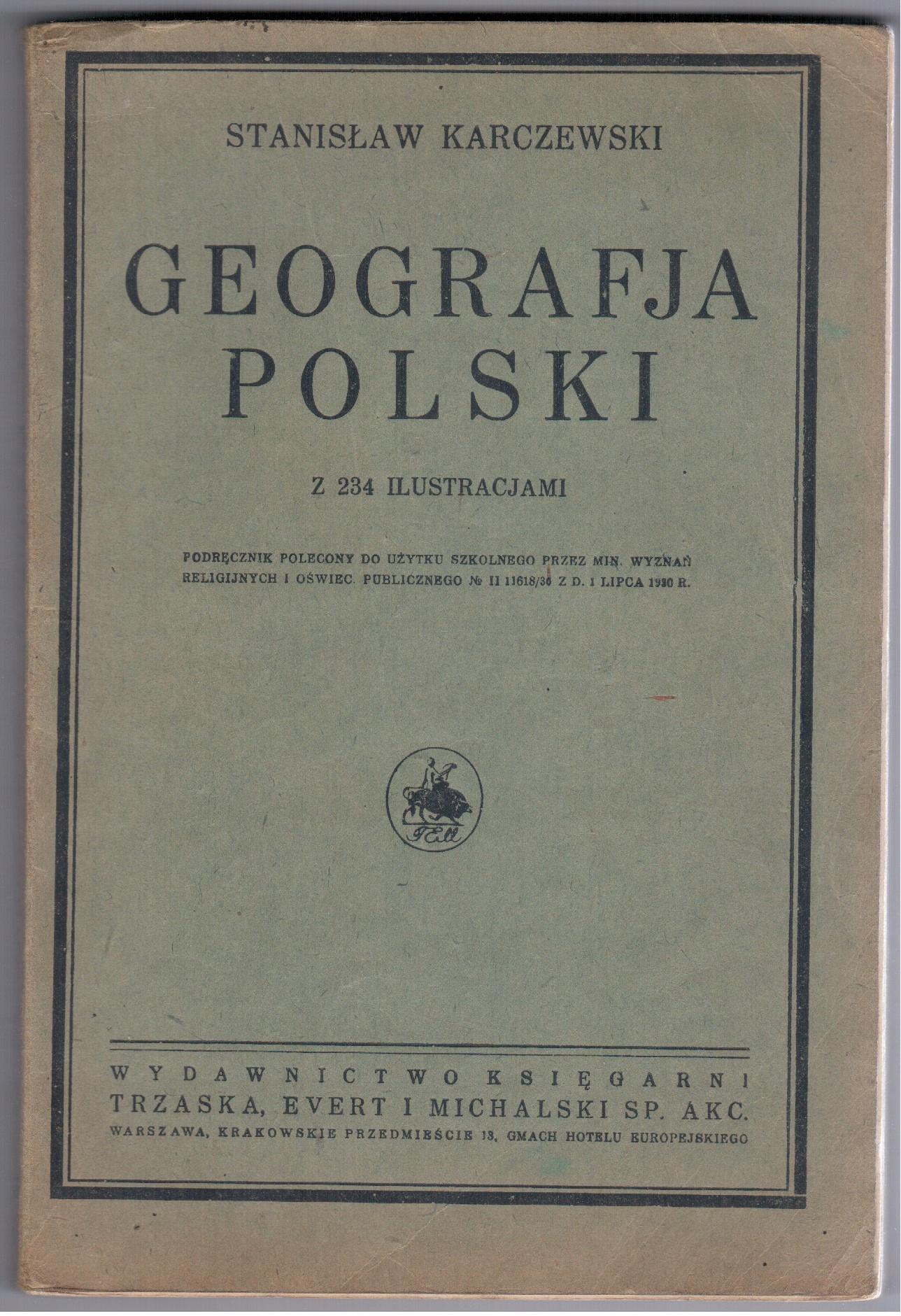 Karczewski Geografia Polski 1930, Polesie Podlasie