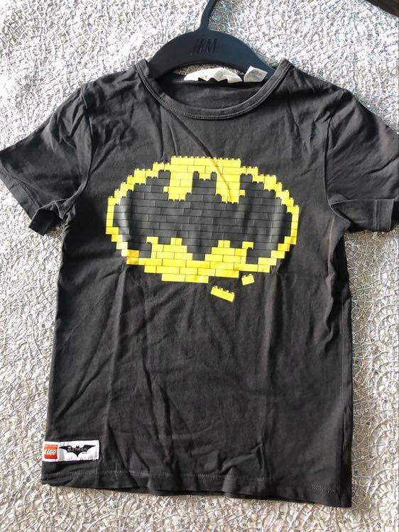 Lato H&M tshirt 122/128 Lego Batman