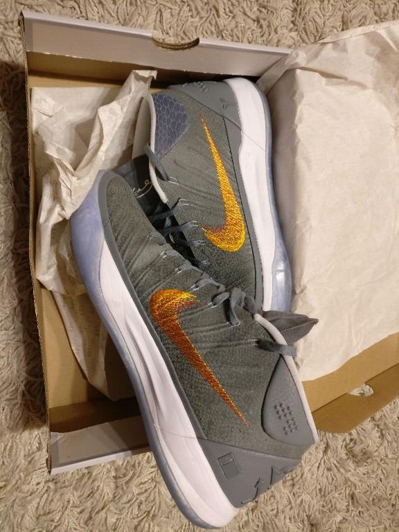 watch 05cbb f1730 Nike Kobe AD Mid Grey Snake