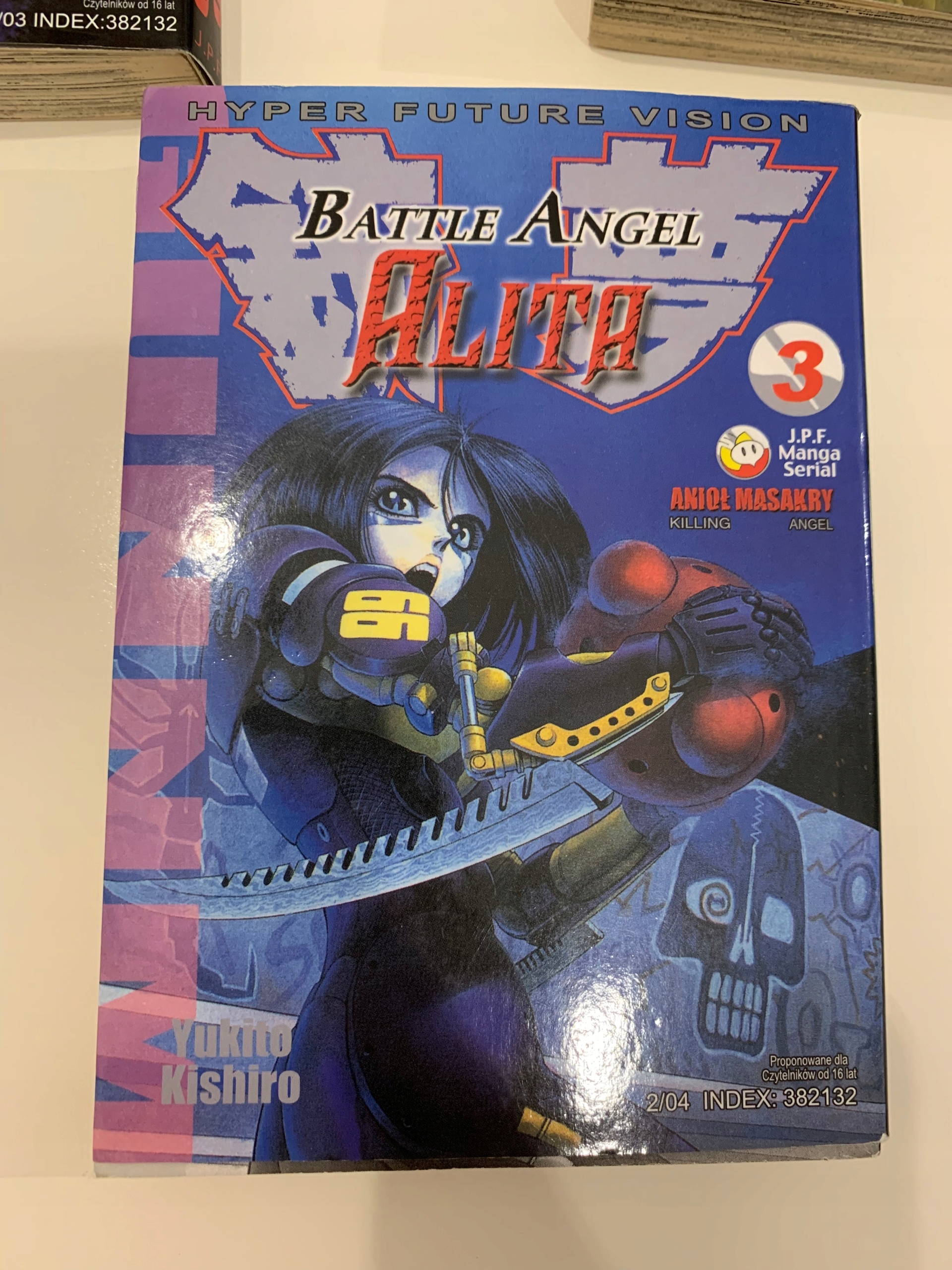 Alita Battle Angel vol 3 manga
