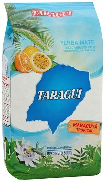 YERBA MATE Taragui Marakuja i Pomarańcza 500g