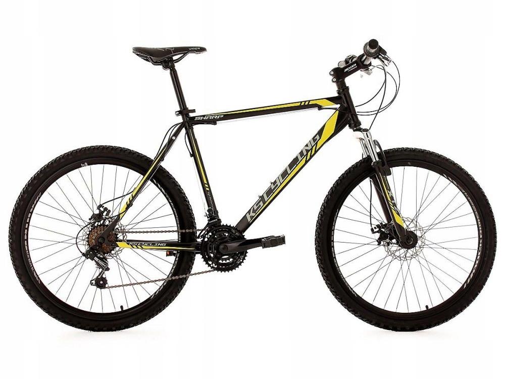 Męski Rower Górski MTB Sharp 350M Góral Czarny 26
