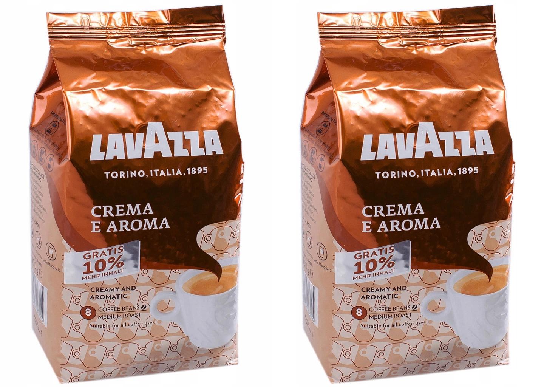 Kawa ziarnista Lavazza Crema Aroma 2 kg +200 g