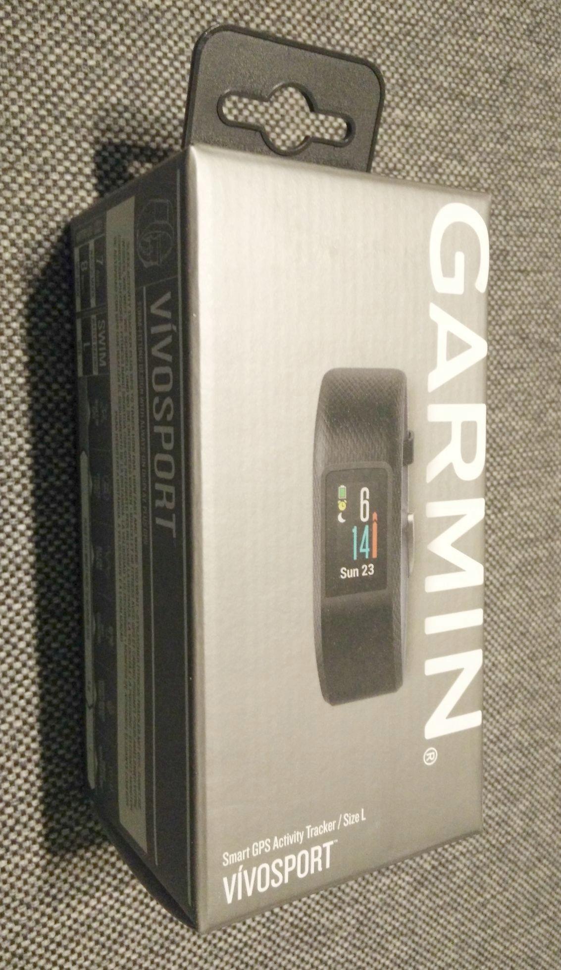 GARMIN opaska fitness GPS VIVOSPORT large NOWY