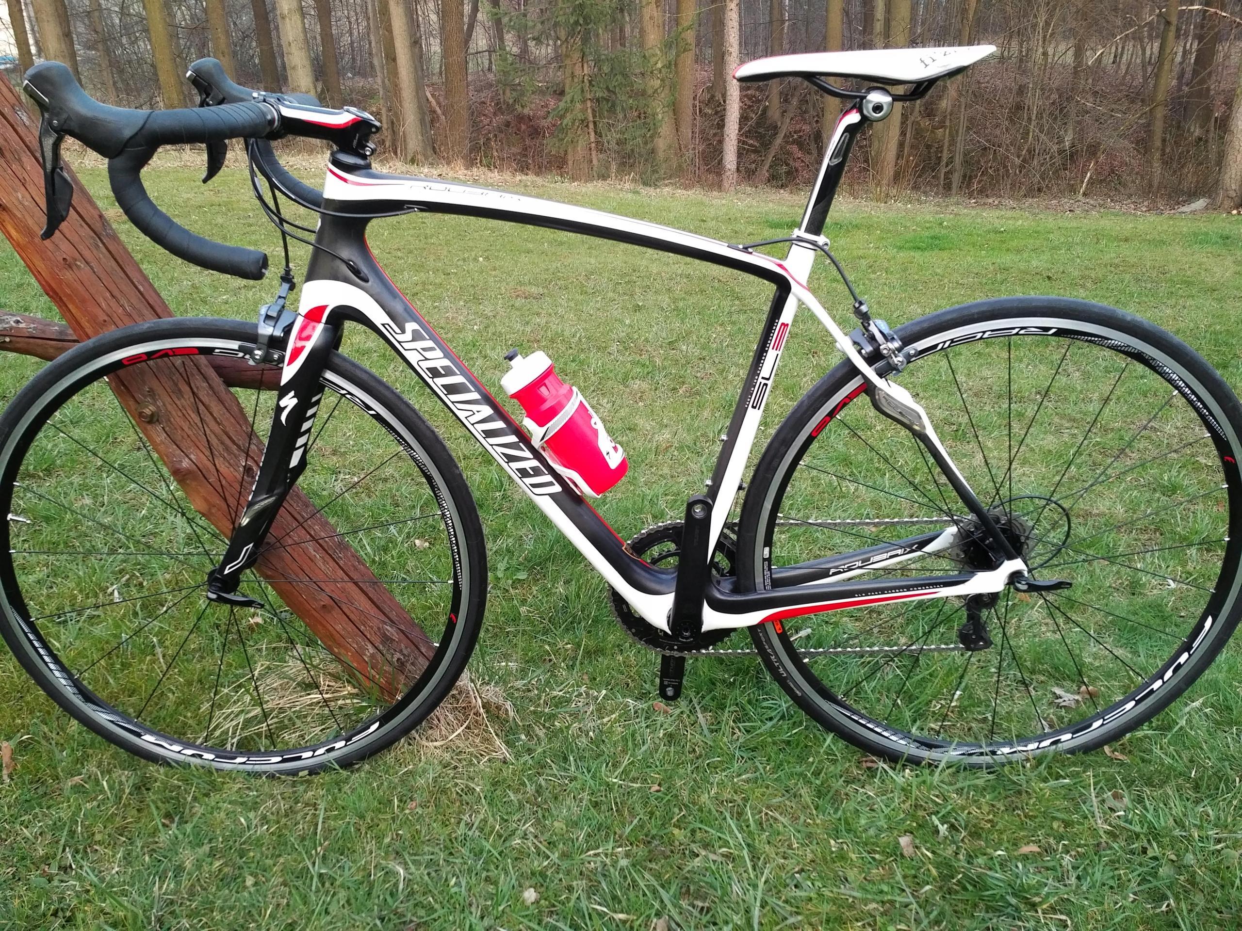 Specialized Roubaix Pro, Ultegra 6800 11s, Fulcrum