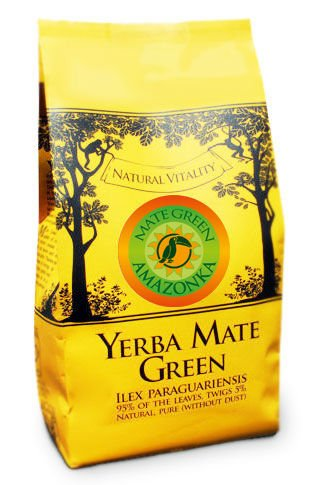 Yerba Mate Green Bitter Melon Aloes AMAZONKA 1kg