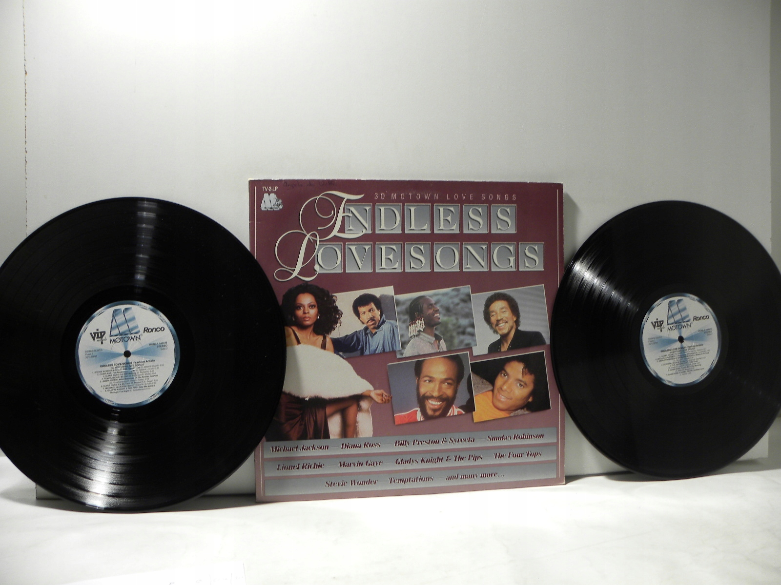 2 LP ENDLESS LOVE SONGS JACKSON ROSS WONDER VG++