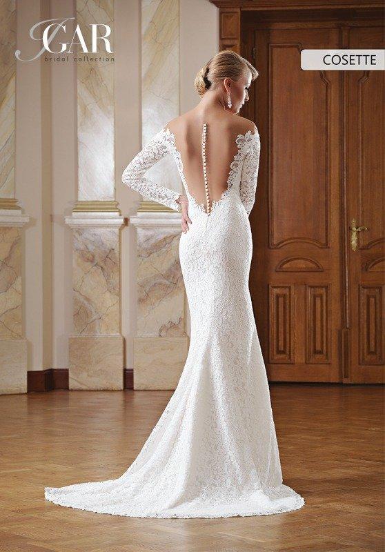 12e712ef Suknia ślubna Igar Bridal plecy tren koronka - 6765751932 ...