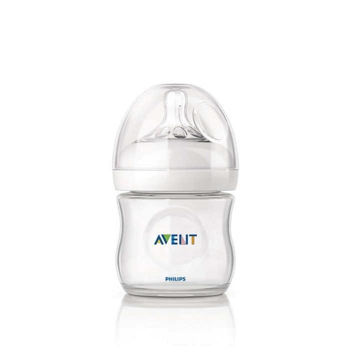 Avent natural 125ml butelka antykolkowa smoczek 0m