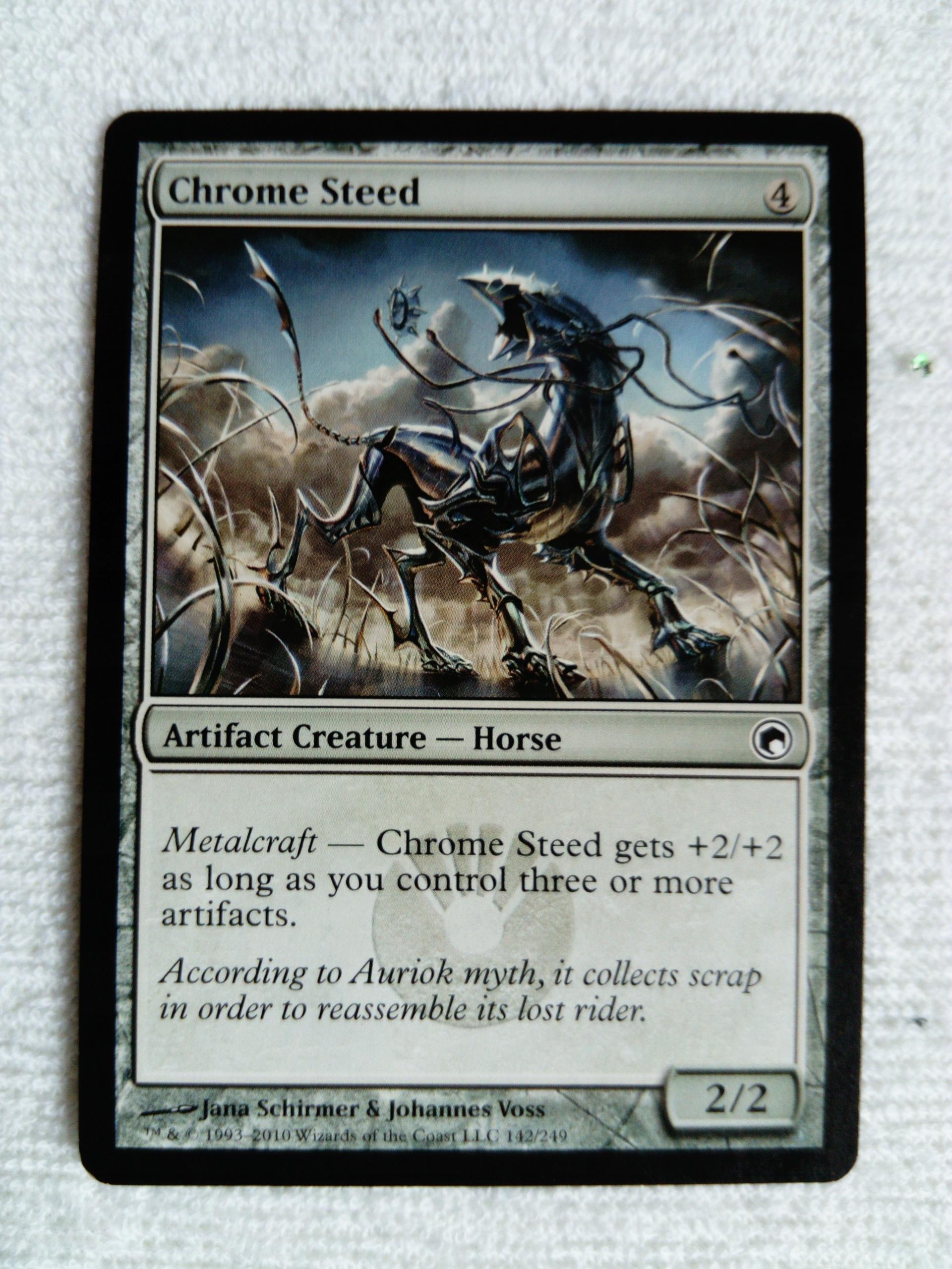 Chrome Steed x3 - MTG / GRATISY