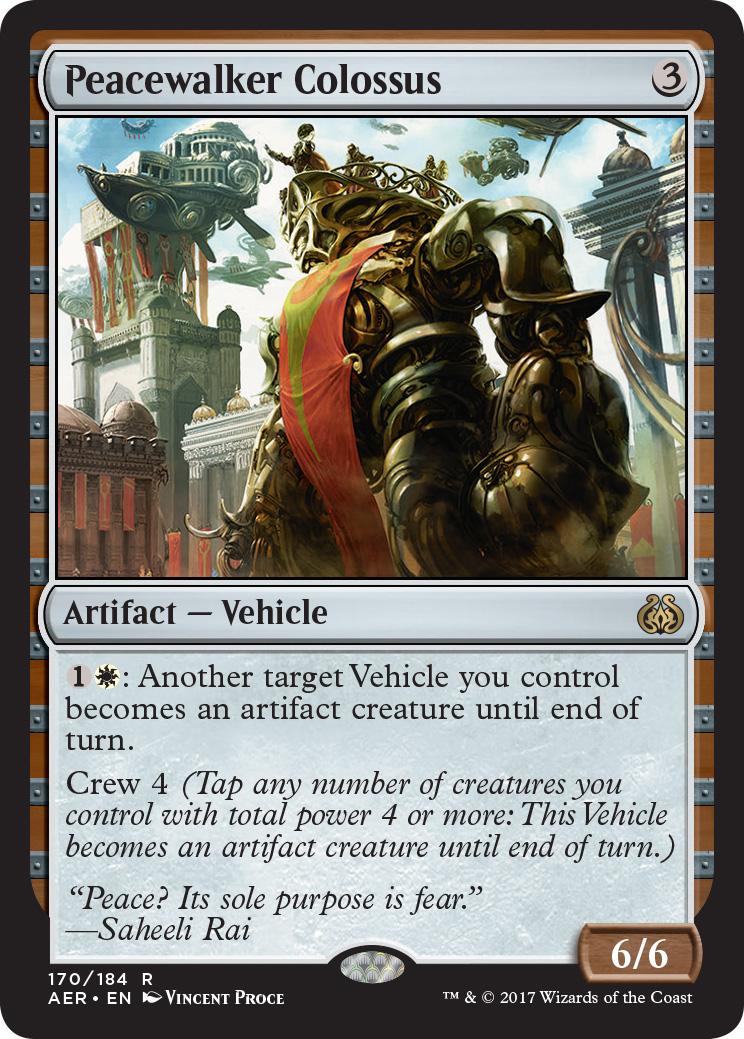 MTG Peacewalker Colossus (Rare)