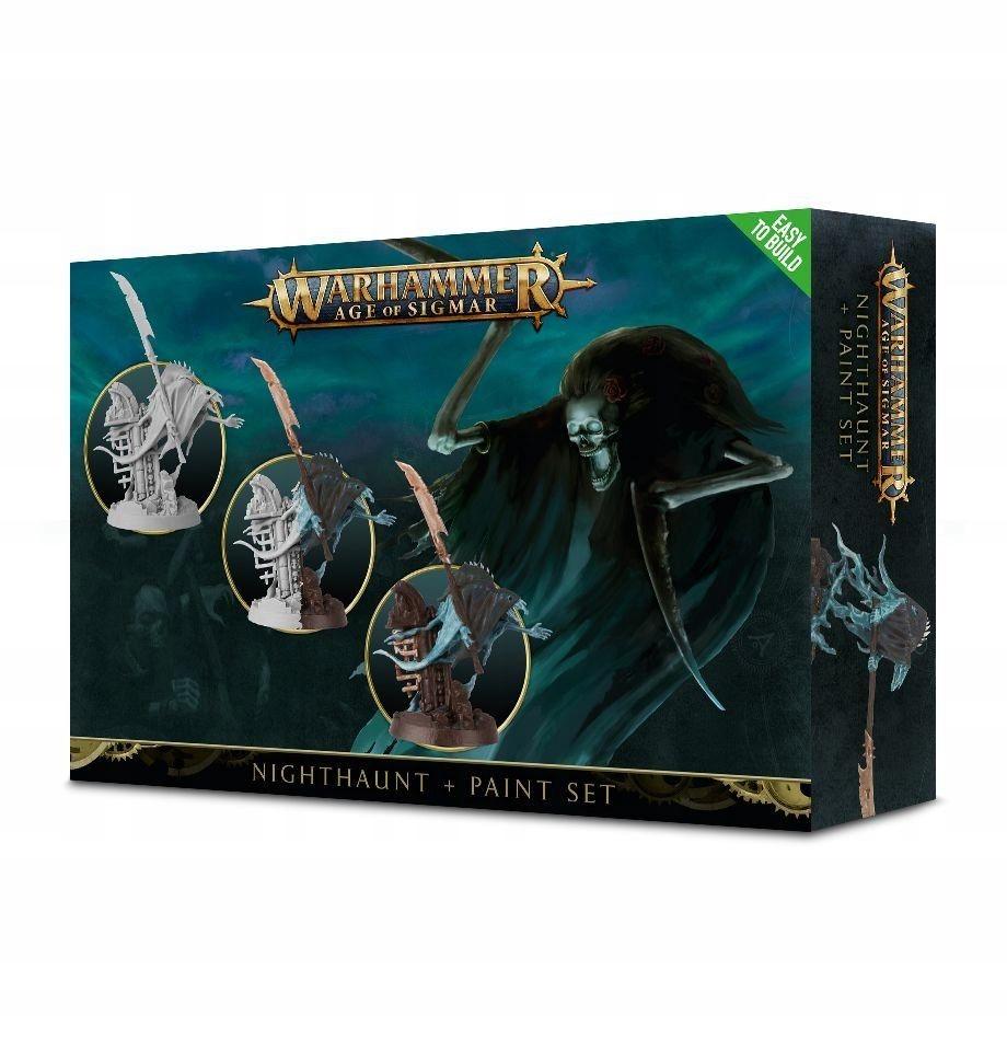 Warhammer AOS Nighthaunt Paint Set 60-09-17