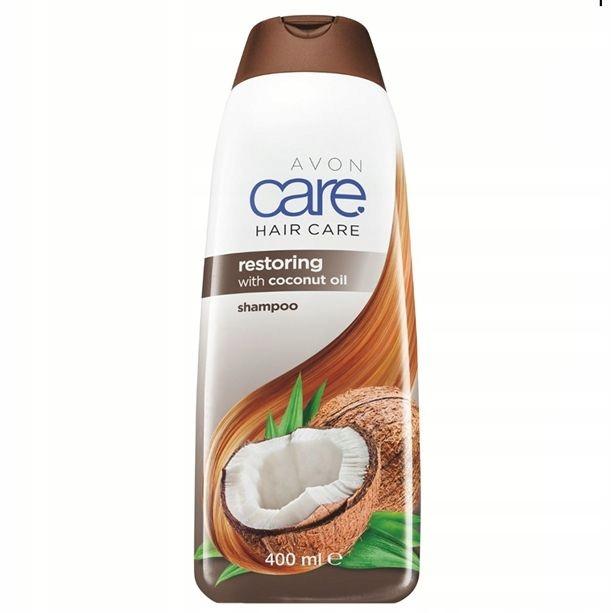 AVON Regenerujący szampon z olejem kokosowym 400ml
