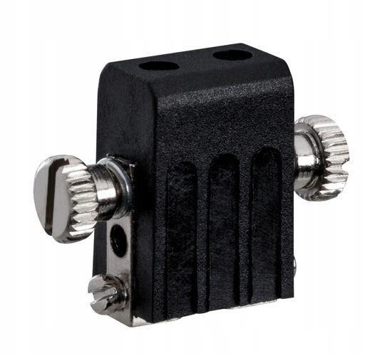 Uchwyt żarówki GX5.3 do systemów linkowych czarny