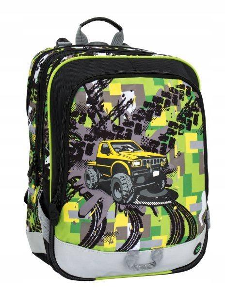 Plecak dla chłopca Bagmaster ALFA_6_D terenówka