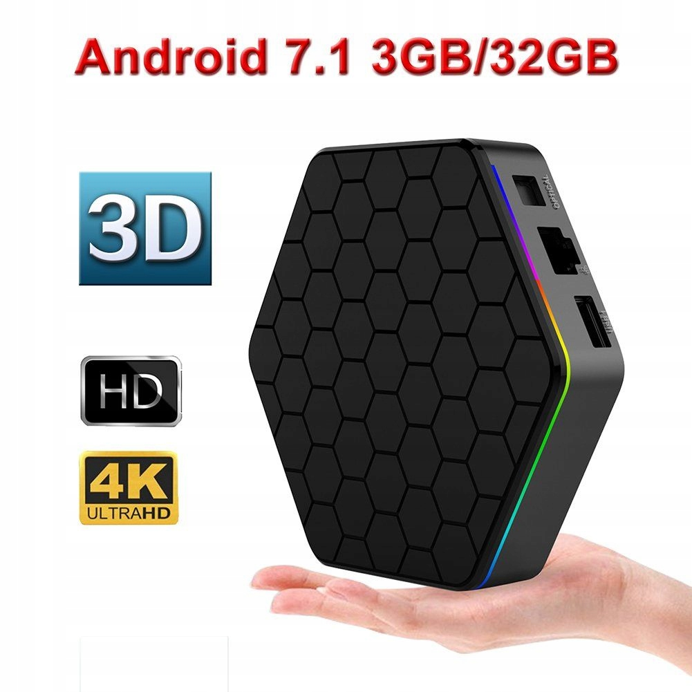 T95Z Plus Android TV-Box 3/32GB Octa-Core, 64 Bit