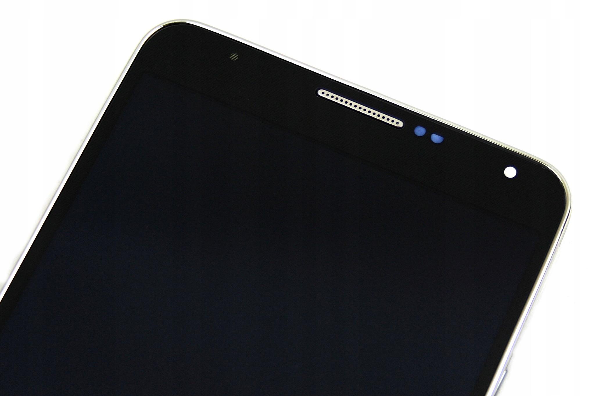 DOTYK WYŚWIETLACZ SAMSUNG NOTE 3 N9005 RAMKĄ Z