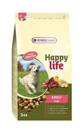 Happy Life - Adult Lamb  3 kg