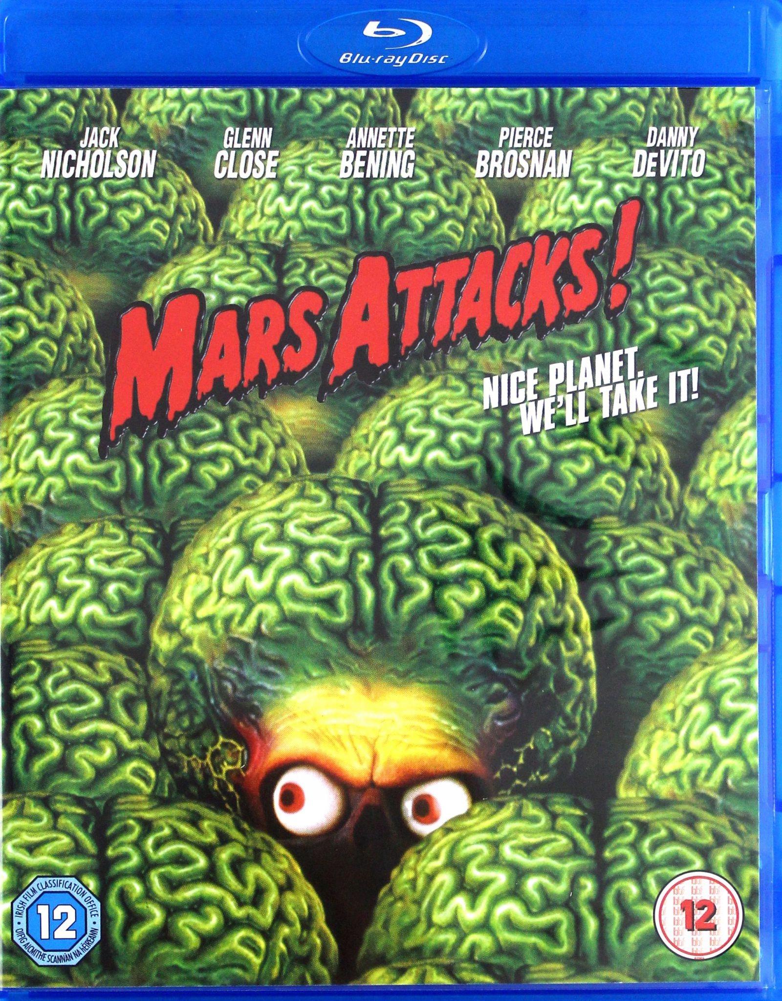 MARS ATTACKS [BLU-RAY]