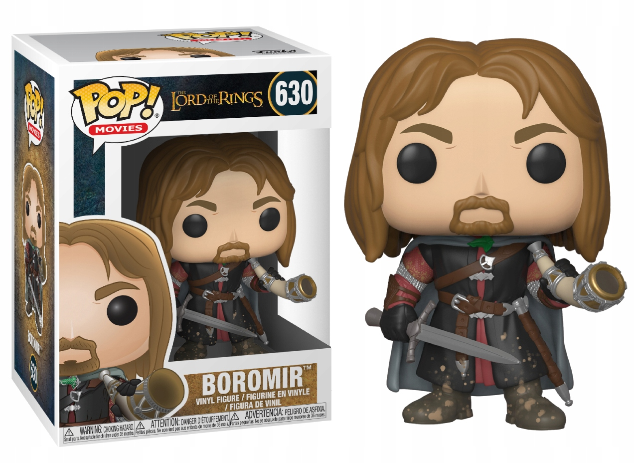 Funko Pop Movies Lord of The Rings Boromir 630 33249 In stock