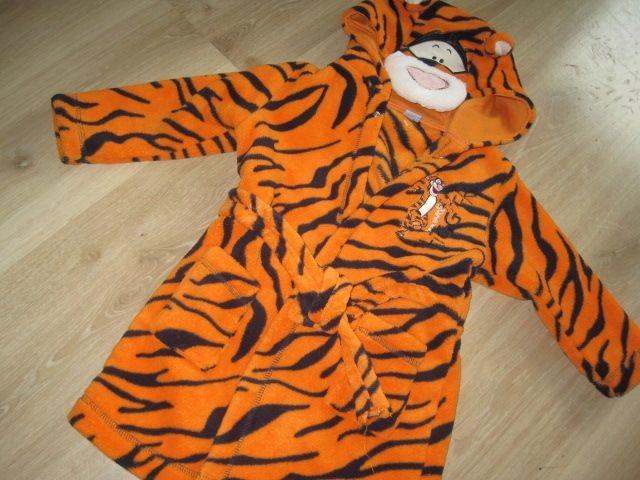 Disney szlafrok Tygrysek na 12-18 m