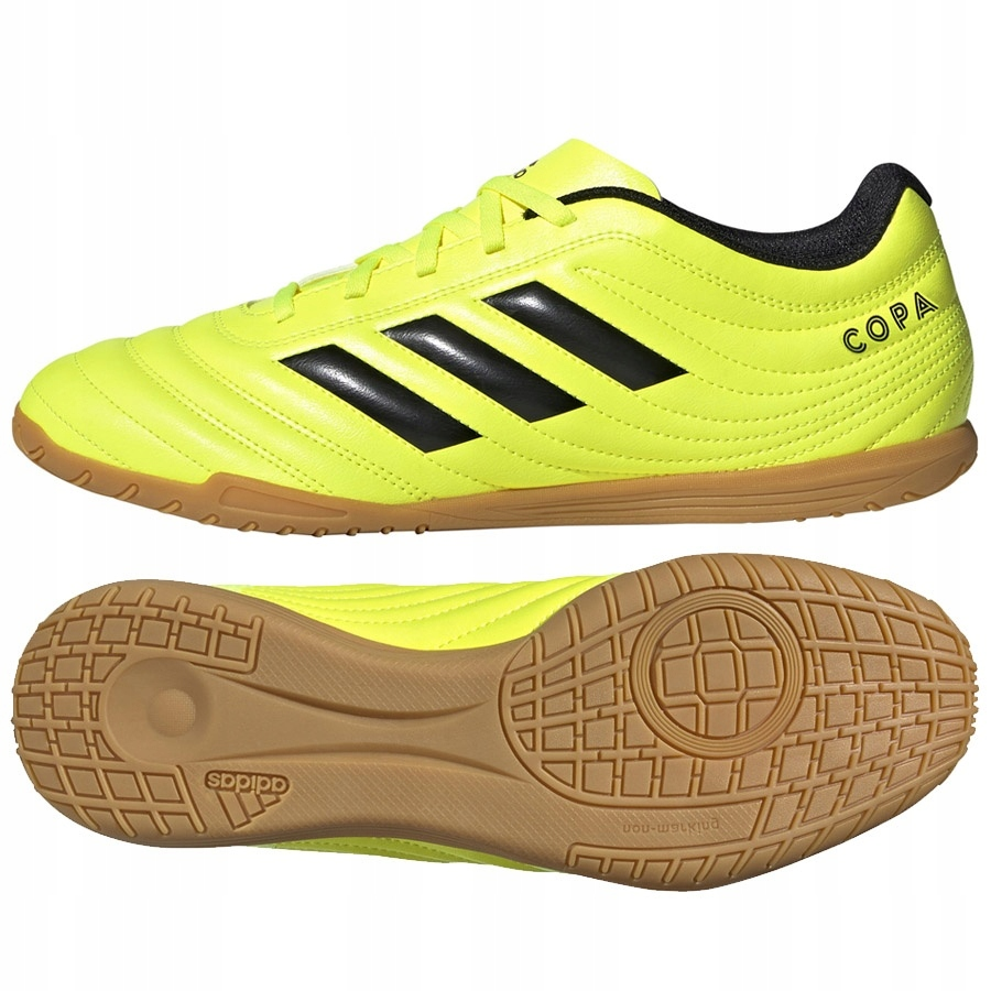 Buty adidas Copa 19.4 IN F35487 żółty 42!