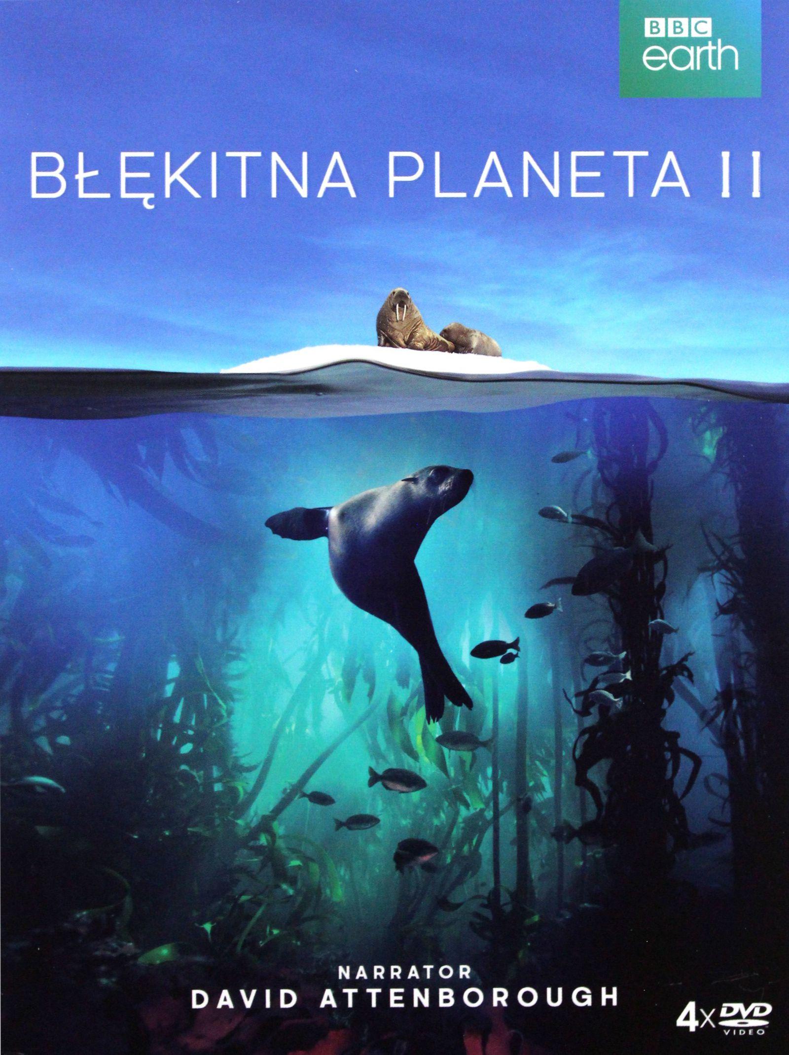 BŁĘKITNA PLANETA 2 [4DVD]