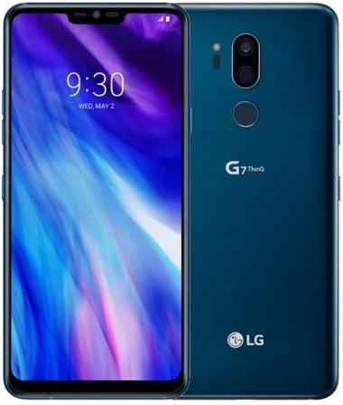 LG G7 ThinQ 64GB LTE Niebieski 1400zł W-wa