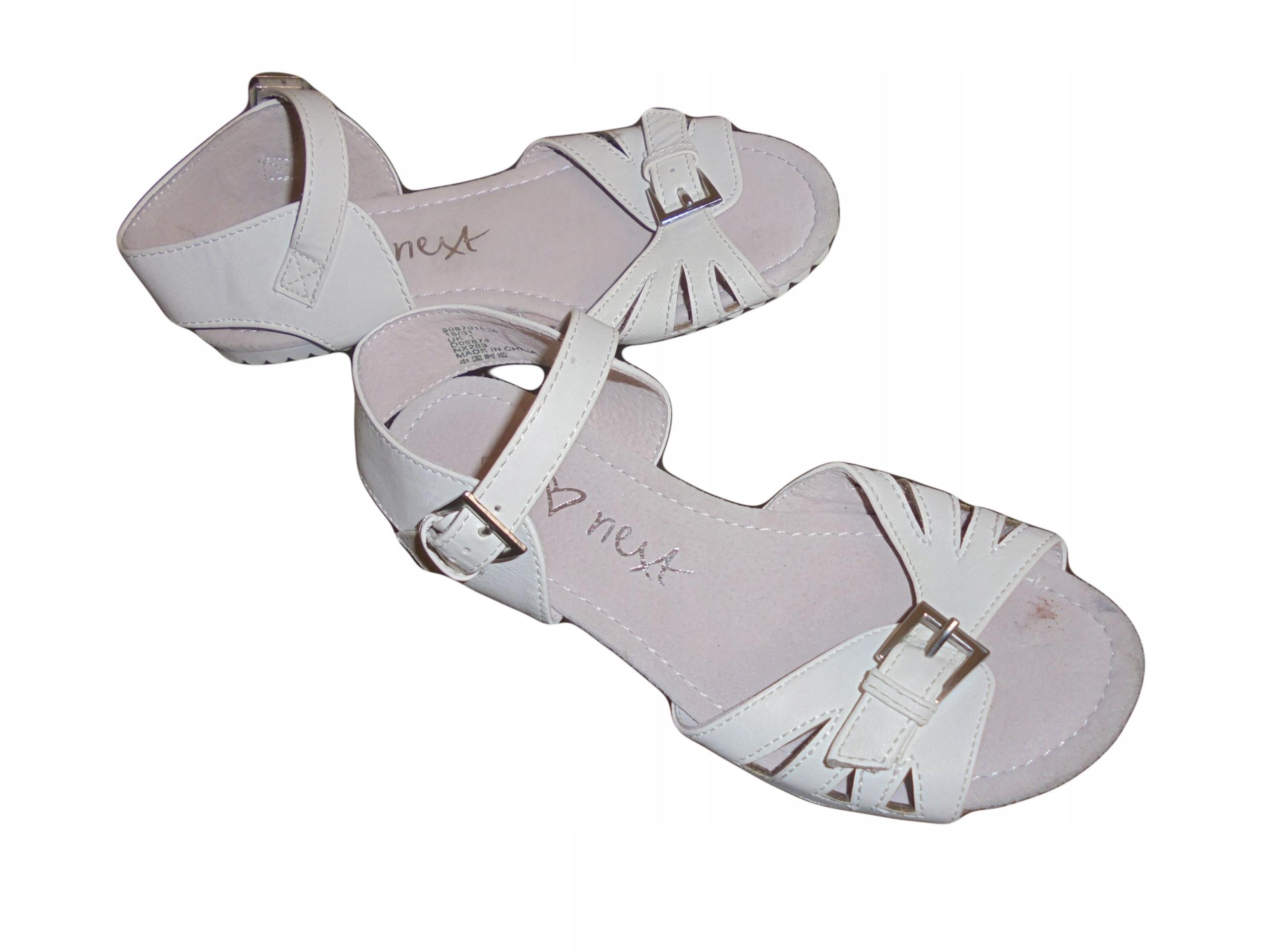 Sandałki firmy Next. Stan idealny. Rozmiar 32.