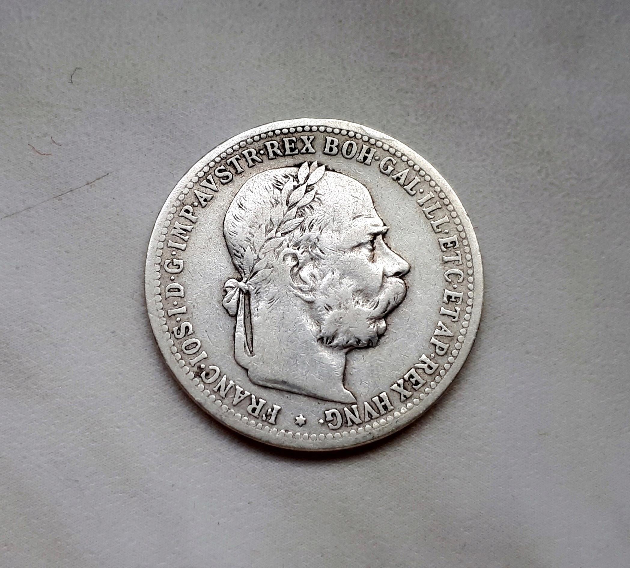 46) AUSTRIA srebro - 1 Korona - 1901 r.