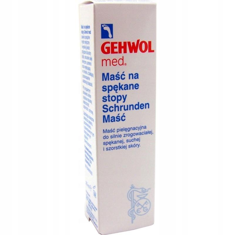 GEHWOL Maść na spękane suche stopy SCHRUNDEN 40 ml