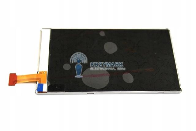 EKRAN WYŚWIETLACZ LCD NOKIA C6 500 X6 C5-03 X6-00