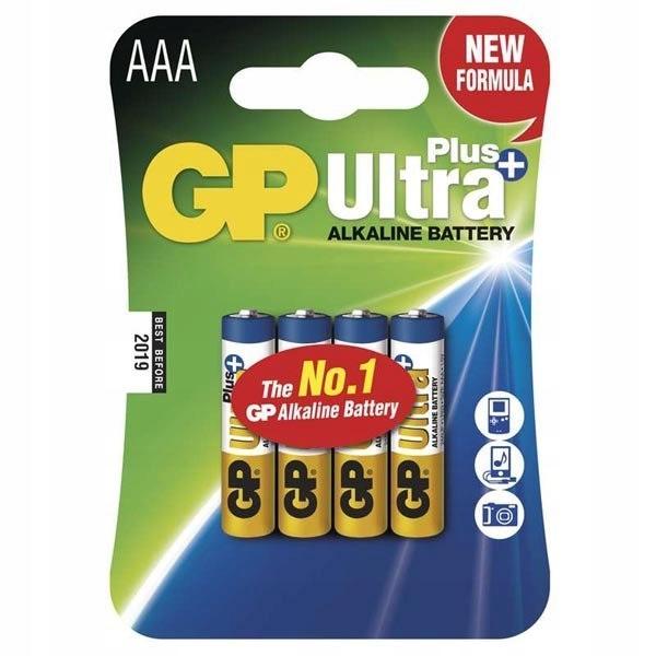Bateria alkaliczna, AAA, 1.5V, GP, blistr, 4-pack,