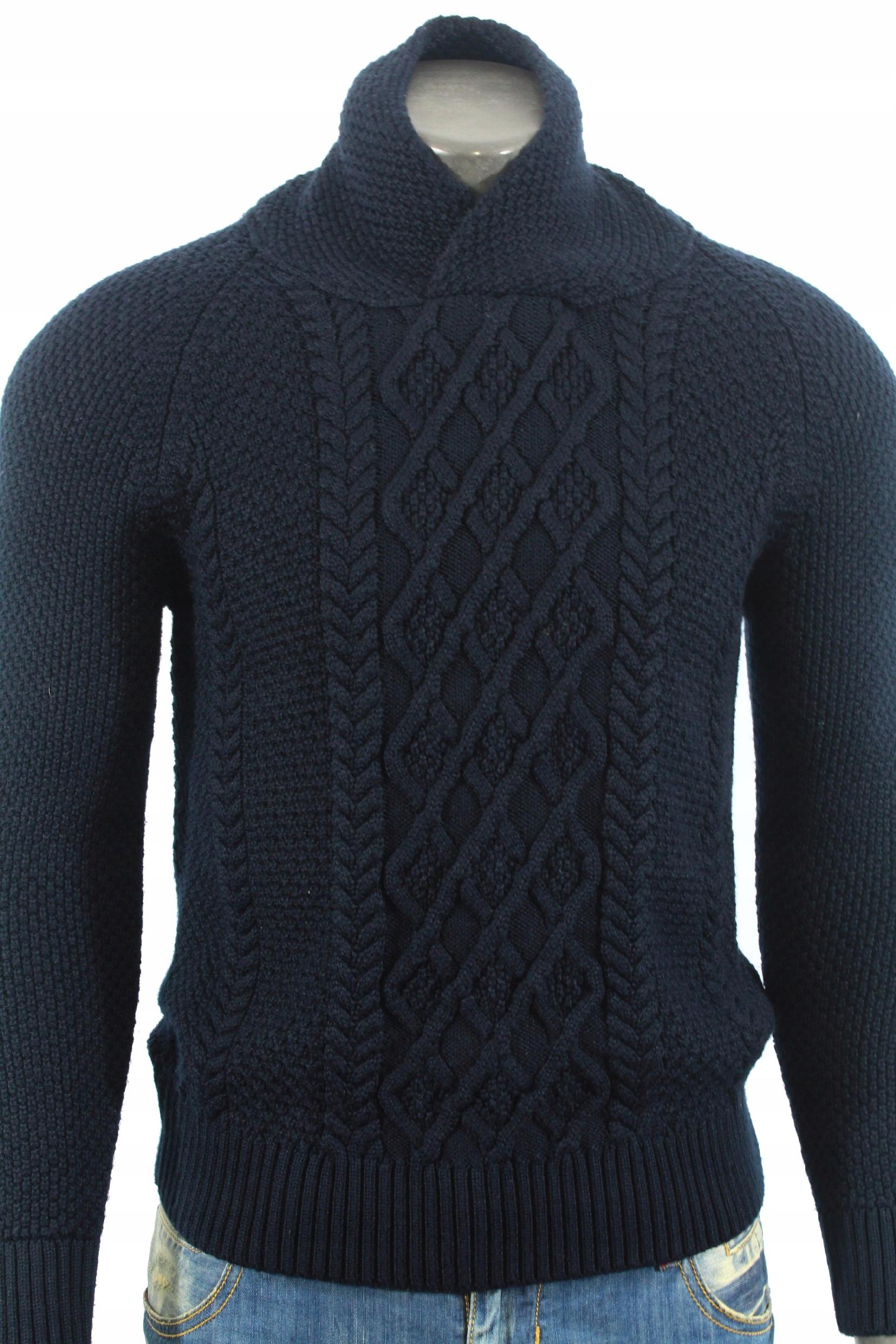 ZARA MAN Sweterek stylowy modny! M