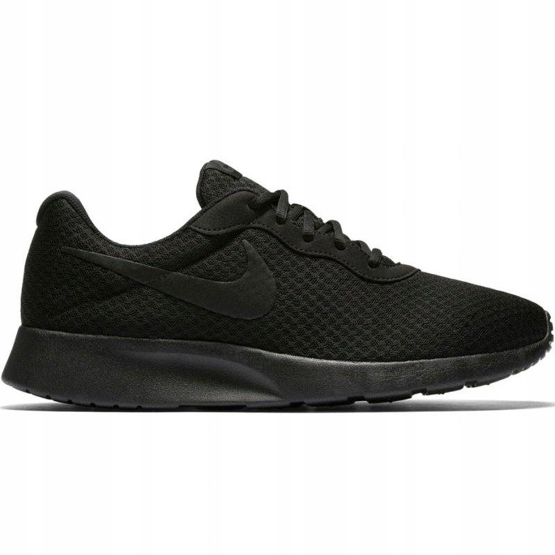 Nike Treningowe Bieganie Sport Czarne r.44