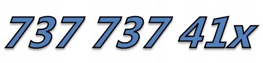 737 737 415 +416 PARA 2x STARTER ŁATWY ZŁOTY NUMER