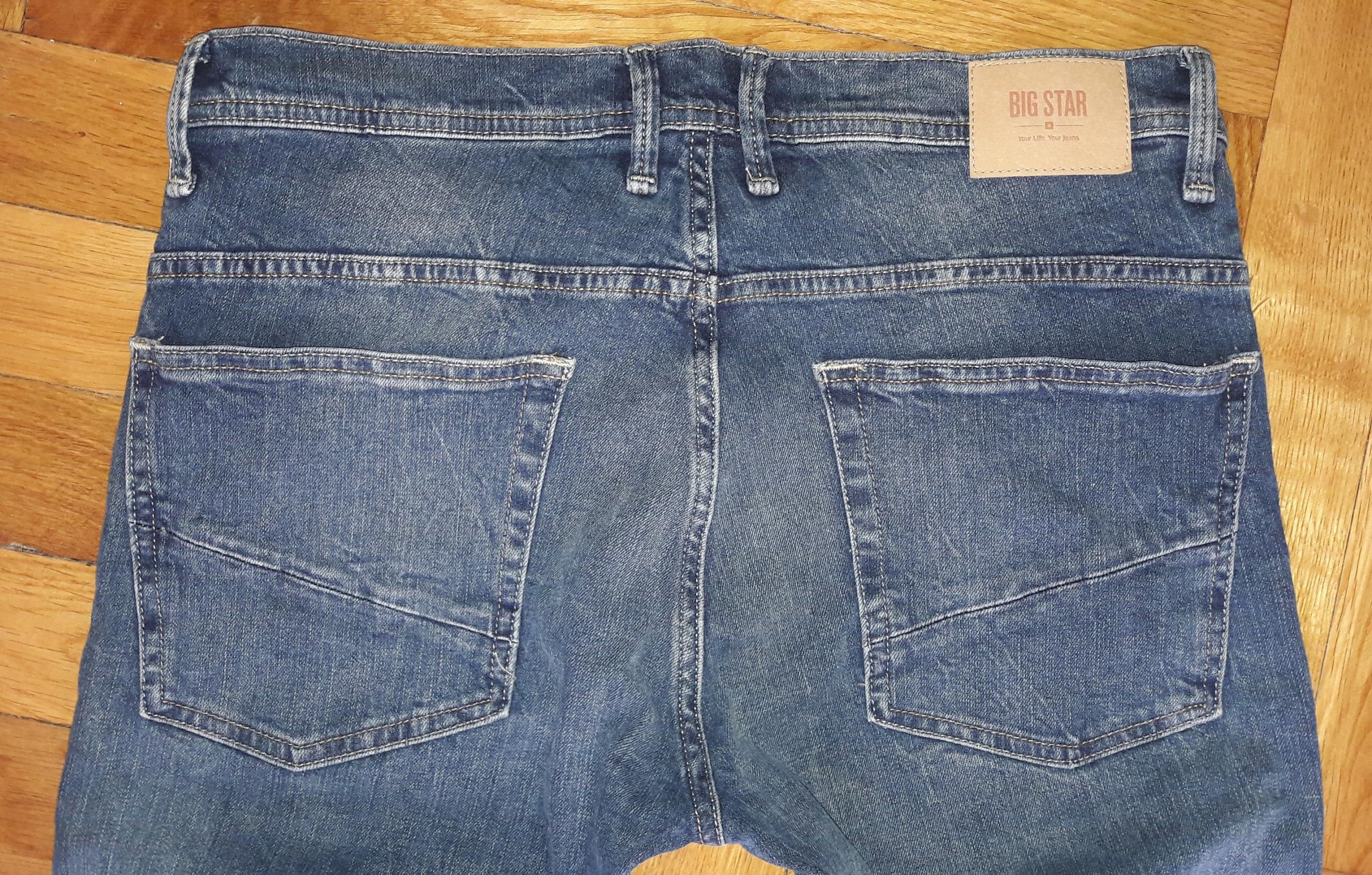 Spodnie męskie jeans Big Star Borys 340 W34L32