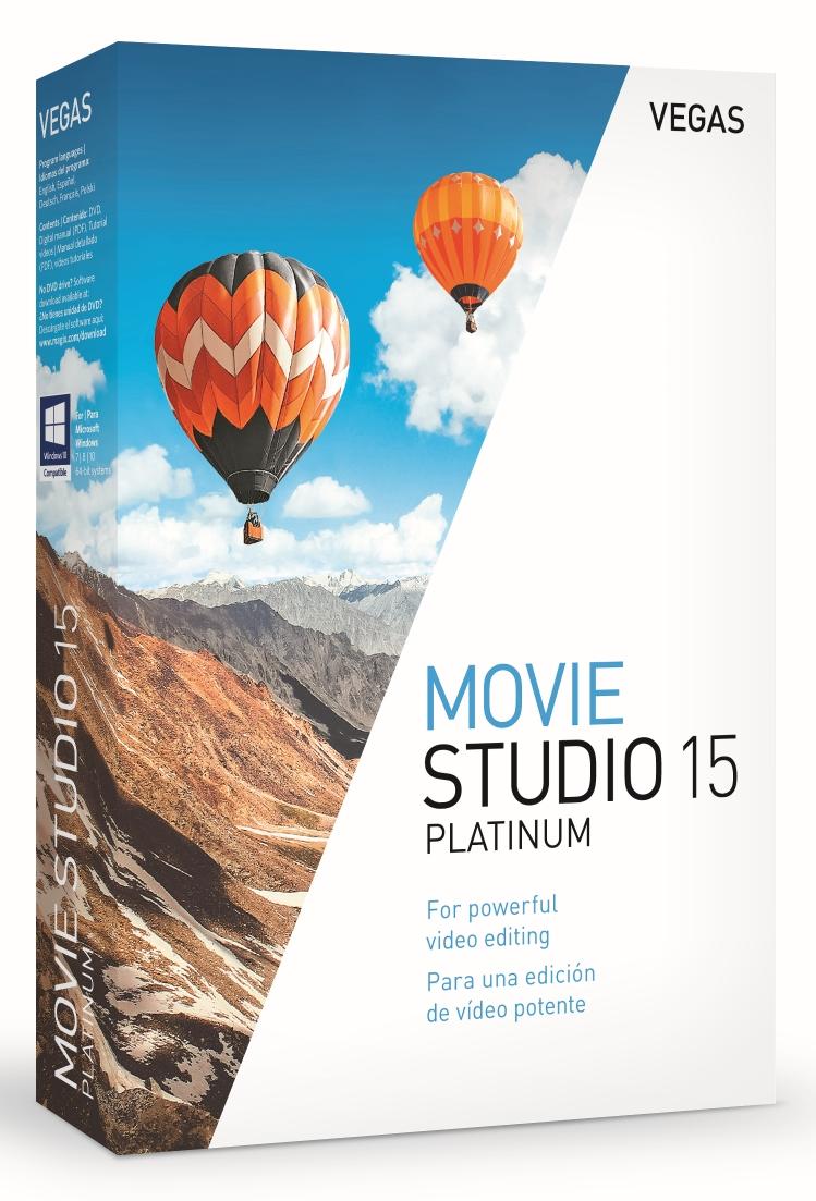 Magix Vegas Movie Studio Platinum 15 BOX