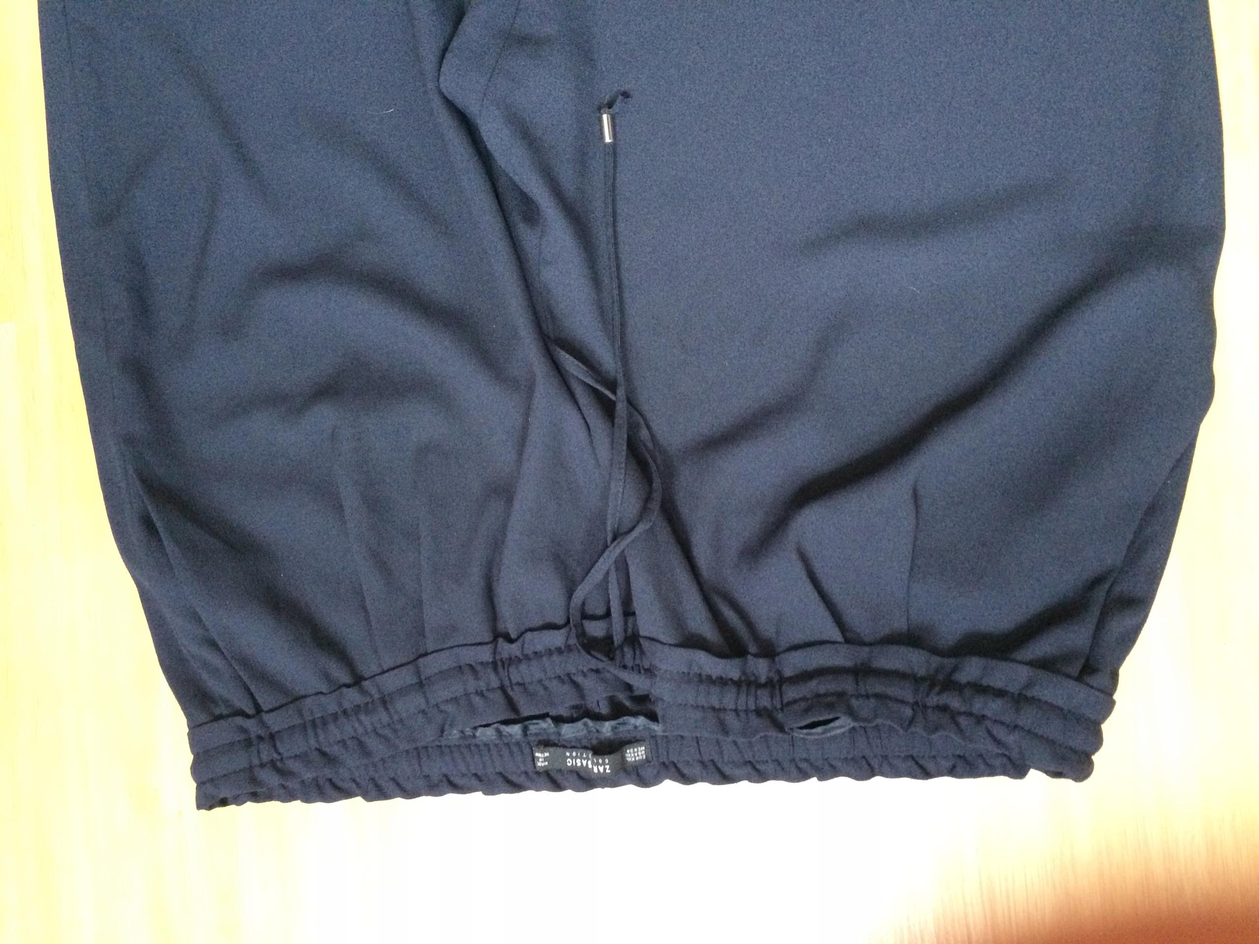 spodnie ZARA roz. 48 XXL st. idealny