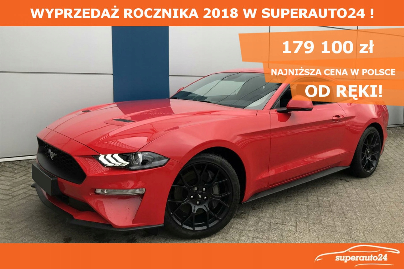 Ford Mustang 2.3 EcoBoost 290KM M6, Pakiet